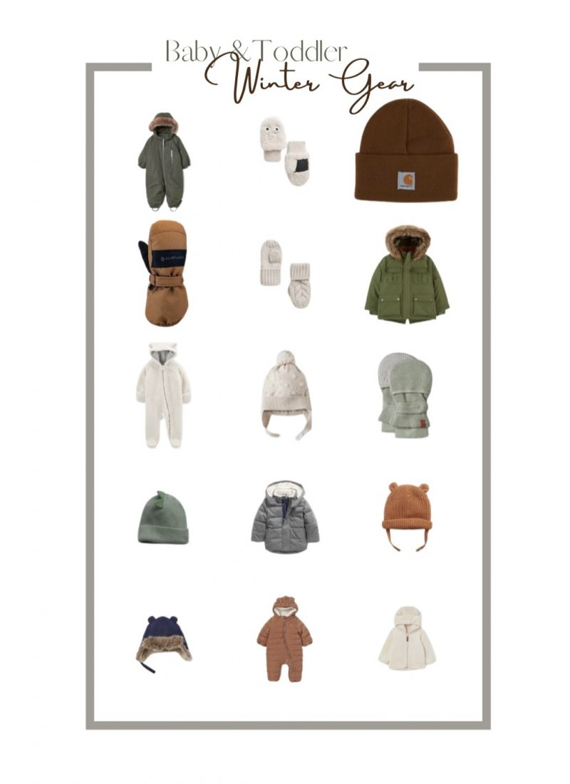 Baby and Toddler Outerwear